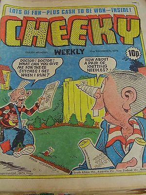 Cheeky Weekly 15Th December 1979