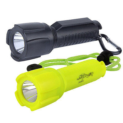 500LM CREE T6 LED Waterproof Underwater Diving Flashlight Torch Lamp 1 Mode