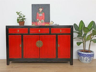 antike sideboard chinesische kommode massivholz dj1855 eur picclick de. Black Bedroom Furniture Sets. Home Design Ideas