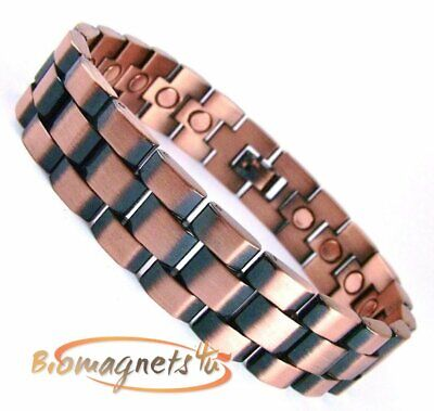 Mens Chunky Copper Magnetic Healing Blt-Arthritis Pain Relief-