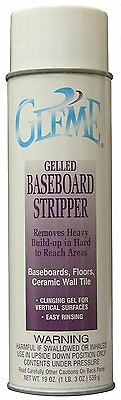 Case lot of 12 Claire C-859 Gleme Gelled Baseboard Stripper Aerosol Can 19 oz ea