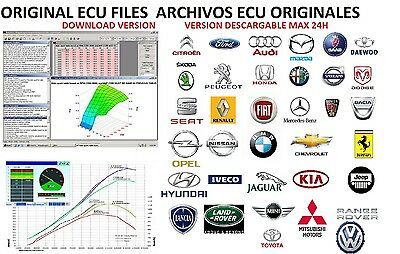 Original Car Ecu Files Archivos Ecu Originales Download Version