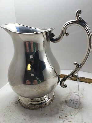 National Silver On Copper Pitcher