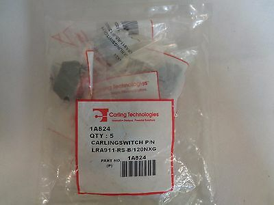 New Pack Of 5 Carling Carlingswitch 1A824 Thumbwheel Switch