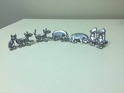 Disney Winnie The Pooh Drawer Pulls - Pewter finish