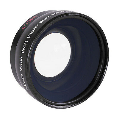 NEW HD Super Wide Angle 58MM + Macro Lens for Canon EOS REBEL 77D WITH 18-55MM