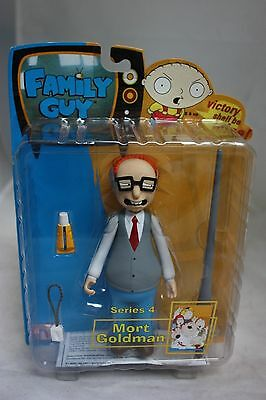 Family Guy TV Show Action Figure Mort Goldman Series 4 FREE SHIPPING