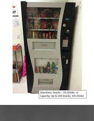 Genesis Combo Vending Machine cold drinks and Snack