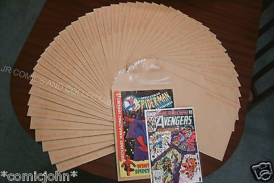 Comic And Magazine Mailing Envelopes - Box Of 50. Large Letter Postage Size