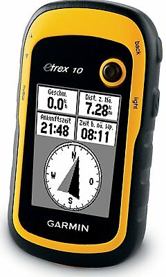 Garmin eTrex 10 Handheld Outdoor Hiking GPS Receiver 010-00970-00