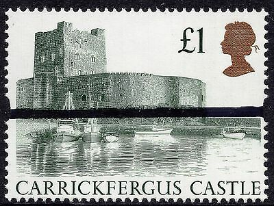 GB 1992 £1 Castle High Value  Post Office Training Stamp SG1611 Unmounted Mint