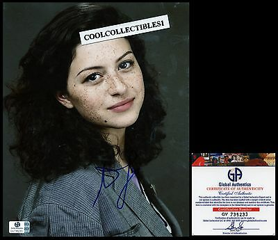 Alia Shawkat In Person Signed 8X10 Photo Global Authentics (Ga) Coa