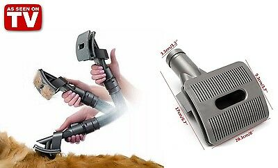Pet Vacuum Cleaner Head - Removes Hair, Allergens and Dead Skin - As Seen On TV