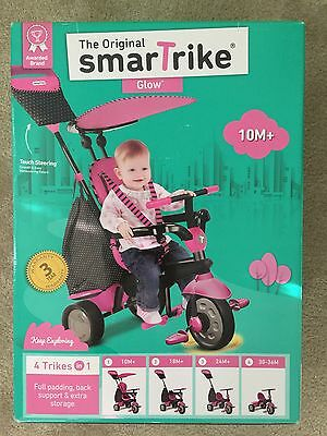 The Original Smartrike Glow - 4 Trikes In 1 - Black/pink