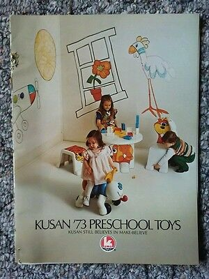 Vintage Kusan 1973 Toy Catalog Print Ad Toy Fair 16 Pages Full Color