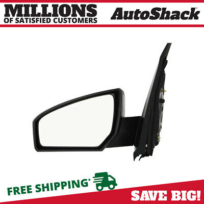 New Driver Left Power Side Non-Heated View Mirror fits 07-12 Nissan Sentra Sedan