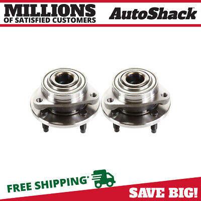 2 Front Wheel Hub Bearings Pair fits Chevy Cobalt Pontiac G5 Pursuit Saturn Ion
