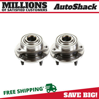 2 Front Wheel Hub Bearings Pair for a Chevy Cobalt Pontiac G5 Pursuit Saturn Ion