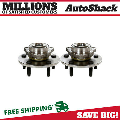 New Front Pair of Left and Right Wheel Hub Bearings fits 02-08 Dodge Ram 1500