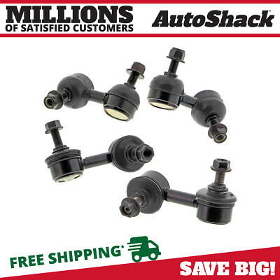 Front Rear (4) Sway Bar Link/Kit Fits 01-2005 Honda Civic Acura EL SBK984-SBK986