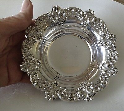 BEAUTIFUL Vintage Sterling Silver CANDY NUT DISH ANSTON bowl #116  80.7g