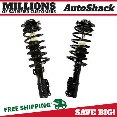 Front Pair (2) Complete Struts Assembly w/coil and springs Fits 05-10 Cobalt