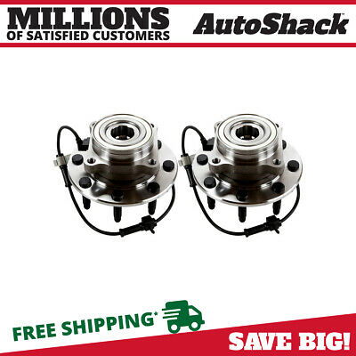 2 New Premium Front Wheel Hub Bearings Left/Right Pair fits Chevrolet GMC Hummer