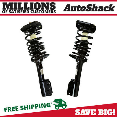 Rear Pair (2) Complete Strut Assembly w/Coil Spring For 00-2009 Chevrolet Impala