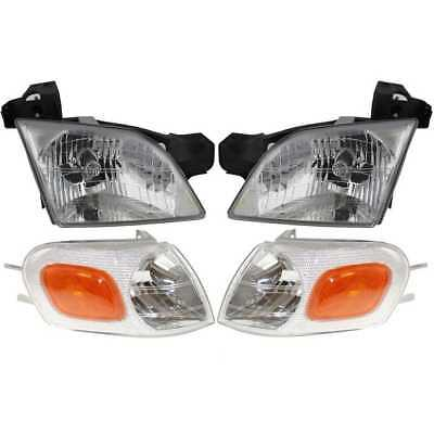 Headlights & Signal Corner Lamps Set for Venture Silhouette Montana Trans Sport