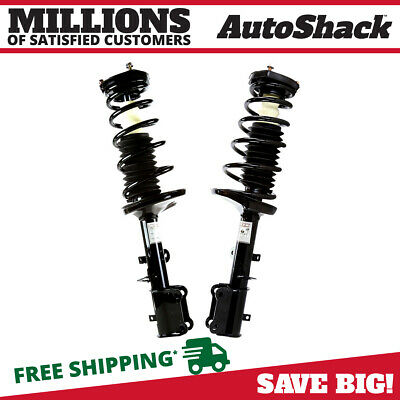 Rear Pair (2) Complete Struts Assembly w/coil springs Fits 93-02 Toyota Corolla
