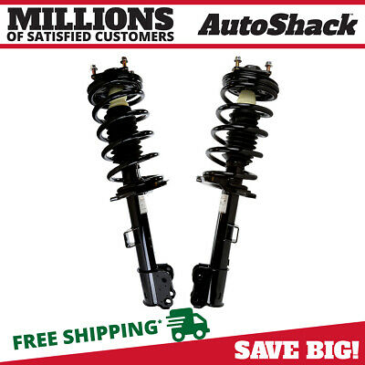Front Pair (2) Complete Strut Assembly w/Coil Spring Fits 2001-2012 Ford Escape