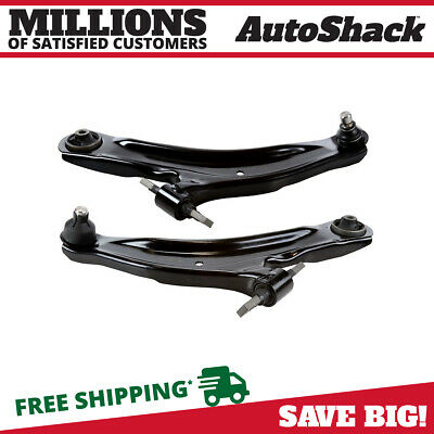 Front (2) Control Arm With Ball Joint For 2008-2012 2013 Nissan Rogue CAK40196PR