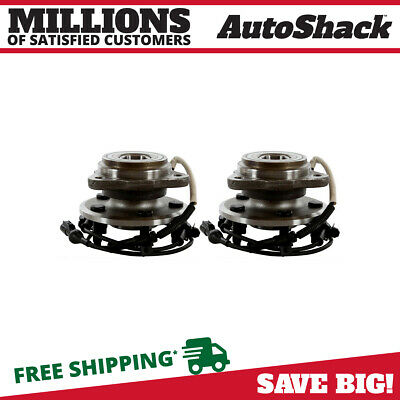Front Pair (2) Wheel Hub Bearing Assembly Fits 1995-01 Ford Explorer HB615054PR