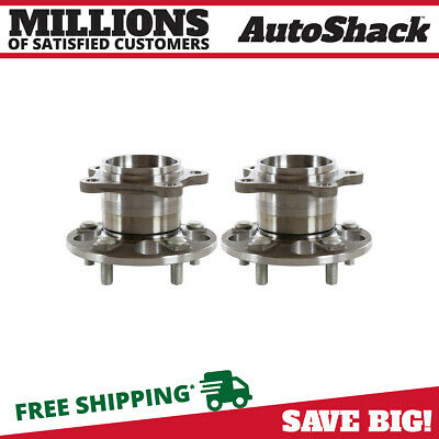 New Pair Left and Right Rear Hub Bearing Assembly fits Lexus Toyota 4WD / AWD
