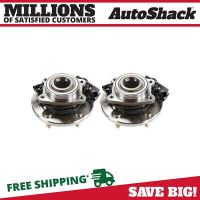 Front Pair (2) Wheel Hub Bearing Assembly Fits 2008-2012 Chrysler Town & Country
