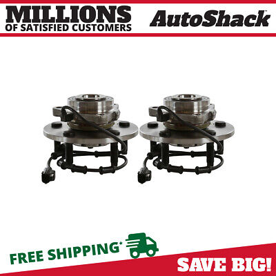 2 New Front Left And Right Wheel Hub Bearing Assembly Pair fits Dodge Ram 1500