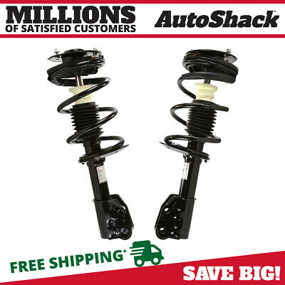 Front Pair (2) Complete Strut Assembly w/Coil Spring Fits 99-05 Pontiac Grand Am
