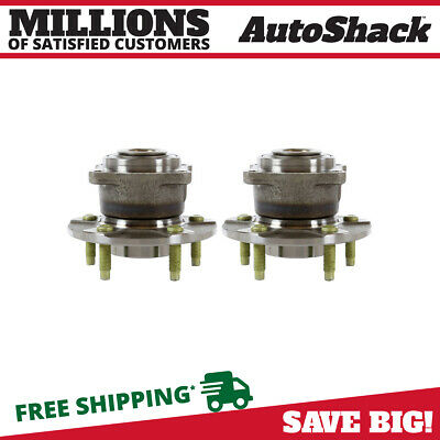 Rear Pair (2) Wheel Hub Bearing Assembly Fits 02-07 Saturn Vue No ABS HB612232PR