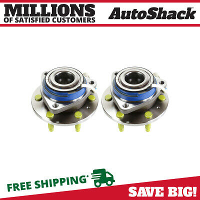 New Premium Rear Wheel Hub Bearing Assembly Pair fits 4-11 Cadillac