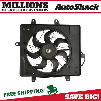 New Radiator Condenser Cooling Fan Assembly fits 2006-2010 Chrysler PT Cruiser
