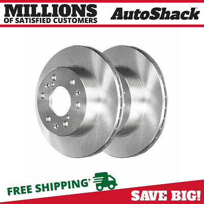 New Premium Front Left and Right Disc Brake Rotors fits Cadillac Chevrolet GMC