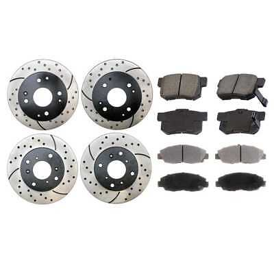 Front & Rear Performance Rotors & Performance Brake Pads With Lifetime Warranty