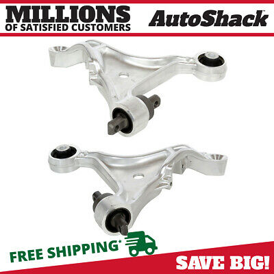 Pair Left Right Front Lower Control Arms for a Volvo S60 V70
