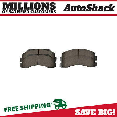 Front Ceramic Brake Pads with Shims fits Ford Expedition F150 Lincoln Navigator