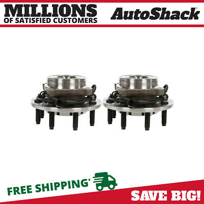 Pair of 2 New Front Wheel Hub Bearing Assemblies fits Dodge Ram 2500 Ram 3500