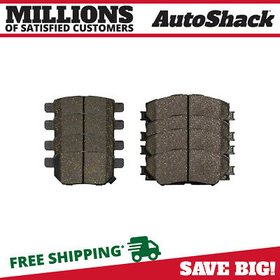 New Set of 8 Front and Rear Ceramic Brake Pads Kit fits Pontiac Scion Toyota