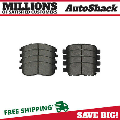 Front and Rear Metallic Brake Pads for 2009-2013 Nissan Altima 2003-2005 G35