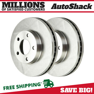 PAIR OF 2 PREMIUM FRONT DISC BRAKE ROTORS NEW SET KIT fits LEFT AND RIGHT SIDE