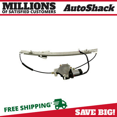 New Front Drivers Side Power Window Regulator with Motor fits 00-06 Mazda MPV
