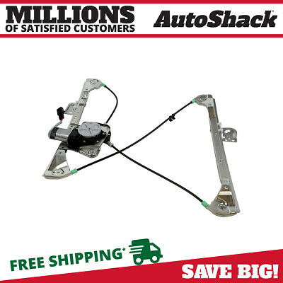 Auto Shack Front Driver Left Power Window Regulator with Motor 4dr